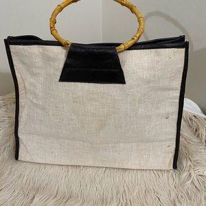 Bamboo linen bag